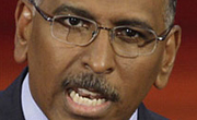 (VIDEO)  Jon Stewart Grills Muppet Michael Steele