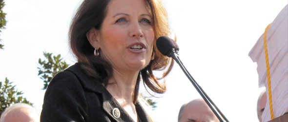 Bachmann Defends Medicaid Funds To Husband's Clinic (VIDEO)