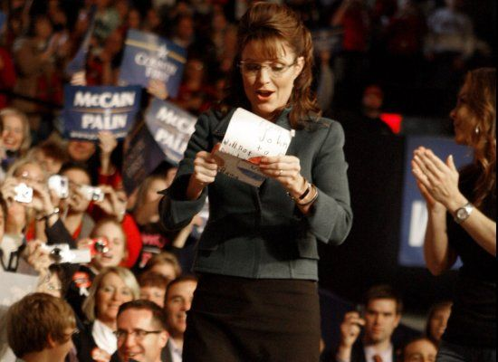 Sarah Palin Speaking Contract: 'Rider' Demands First-Class Travel, Pre-Screened Questions, Bendable Straws