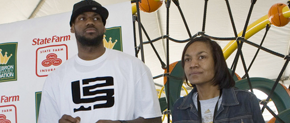 lebron james mother arrested. LeBron#39;s Mom Arrested For
