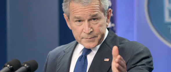 DNC Pointing Finger At Bush In 2010 Campaign Ad