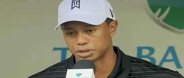Tiger Woods On Divorce: 'It's A Sad Time' (VIDEO)