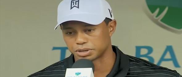 Tiger Woods On Divorce: 'It's A Sad Time' (VIDEO)