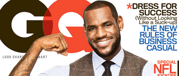 LeBron James GQ Interview: 'We Hated Cleveland'