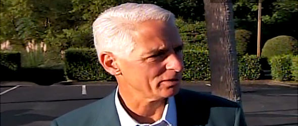 Crist: 'I Didn't Initially' Approach Meek (VIDEO)