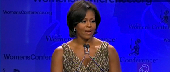 Michelle Obama's West Coast Swing (VIDEO)