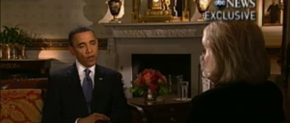President Obama: 'I Don't Think About Sarah Palin'