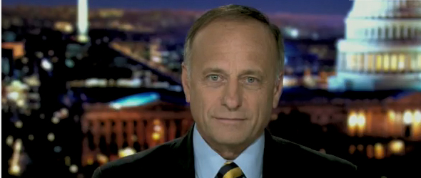"Rep. Steve King Says President Obama ""Would Be Impeached"" If Nation Falls Into Default"