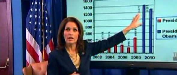 Michele Bachmann Misstates Reality In SOTU Response (VIDEO)