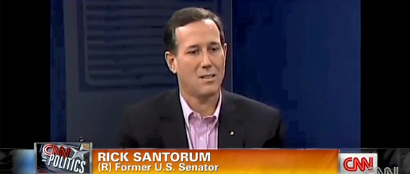Rick Santorum Says He Was 'Taken Aback' By 'The Marriage Vow' (VIDEO)
