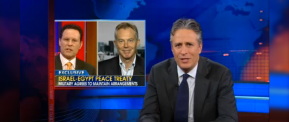 Jon Stewart Mocks Fox News' Response To Egypt's Revolution (VIDEO)