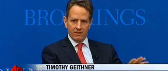 Treasury Secretary Tim Geithner Expected To Leave White House Economic Team
