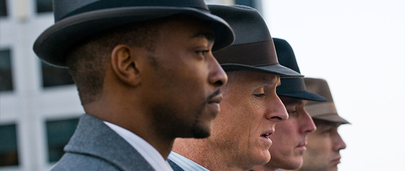 "Anthony Mackie Discusses New Film, ""The Adjustment Bureau"" (VIDEO)"