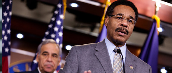 Congressional Black Caucus Talks Jobs With President Obama