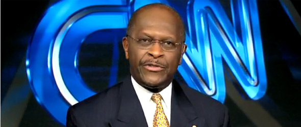 Herman Cain Says President Obama Is 'Not A Strong Black Man'