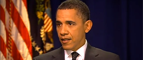 "President Obama: Can't Back Libyan Rebels ""With Both Feet"" (VIDEO)"