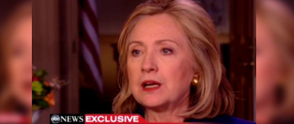 ABC News Exclusive: Clinton Says Gadhafi, Allies May Be Seeking Way Out