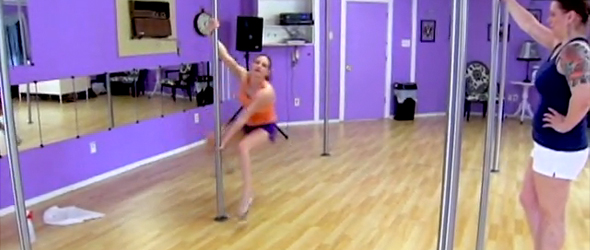 Pole dancing for Jesus? (VIDEO)
