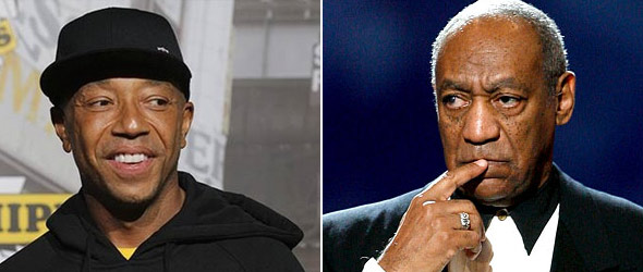 Web Watch: Bill Cosby Takes On Russell Simmons (VIDEO)