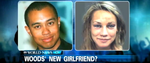 Tiger Woods' New Girlfriend? (VIDEO)