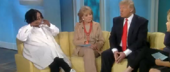 Donald Trump vs. Whoopi Goldberg On Obama Birth Certificate (VIDEO)