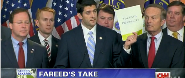 Fareed Zakaria: Why Ryan&#8217;s Budget Plan Won&#8217;t Work (VIDEO)