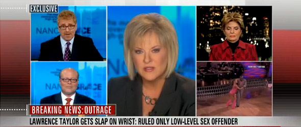 Nancy Grace: Taylor Got Off Easy (VIDEO)