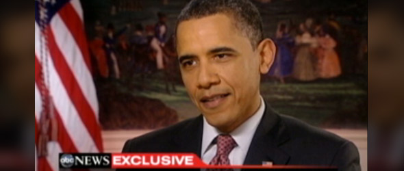 ABC News Exclusive: President Barack Obama Discusses The Budget Battle (VIDEO)