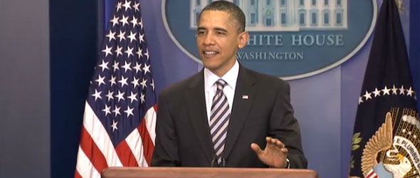 President Obama Speaks To The Press About Birth Certificate