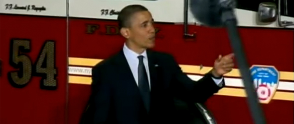 President Obama To FDNY: &#8216;We Will Never Forget&#8217;  (VIDEO)