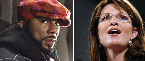 Palin Knocks White House Over Common&#8217;s Invitation