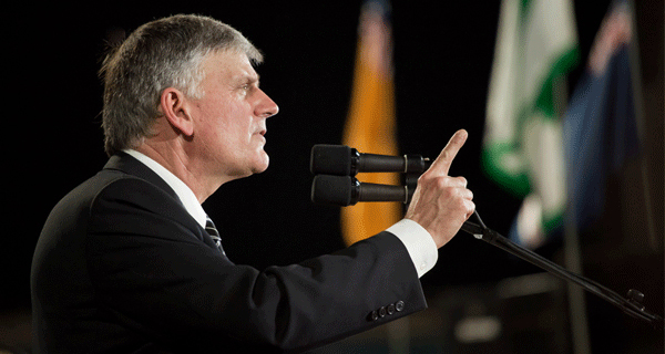 Franklin Graham is Wrong to Question President Obama's Christianity