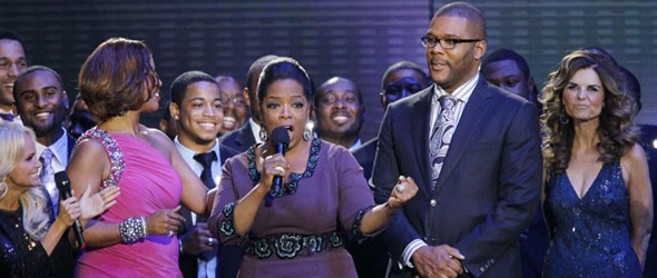 Maria Shriver, Aretha Franklin Appear At Oprah Winfrey&#8217;s Star-Studded Send-Off