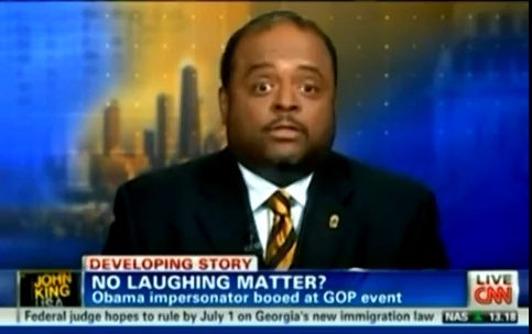 Mediaite: CNN's Roland Martin Livetweets Dave Chappelle's Strange Comedy Set (VIDEO)