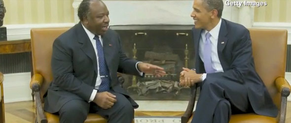 Controversy Over Gabon President's Visit To The White House (VIDEO)
