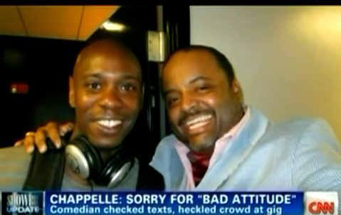 "WATCH: Roland Martin Details Dave Chappelle's Performance And ""Bad Attitude"""