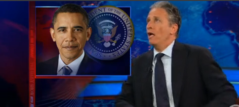 Jon Stewart Mocks President Obama's 'Storm Out' Of Debt Ceiling Meeting (VIDEO)