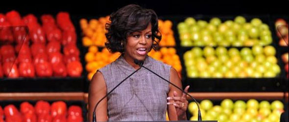 First Lady Teams Up With Grocers Nationwide