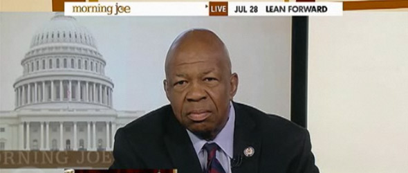 Rep. Elijah Cummings: Debt Crisis Standoff Has Been Manufactured (VIDEO)