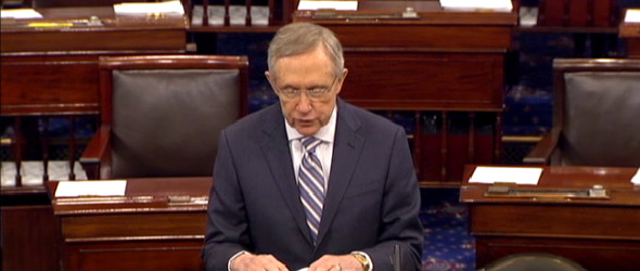 Sen. Reid: Even GOPs Don't Like Speaker Boehner's Plan (VIDEO)