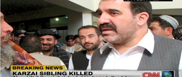Afghan President Hamid Karzai's Half-Brother Assassinated