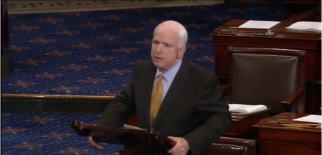 "John McCain Blasts ""Bizarro"" Tea Party Debt Limit Demands"