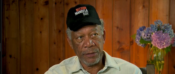 Morgan Freeman On Mandela Day (VIDEO)