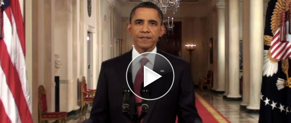 President Obama Addresses The Nation On Dangers Of Default (VIDEO)