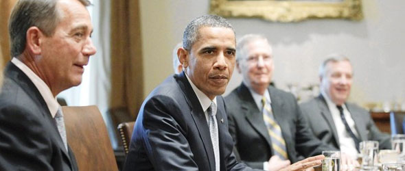 Debt Ceiling Talks Pause, President Obama To Offer Update In News Conference Today