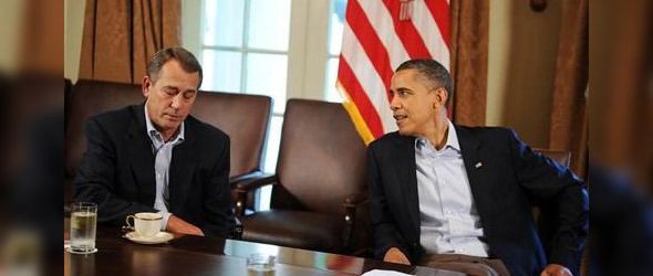 No Word Of Progress In Debt Talks After President Obama Meets With Leaders