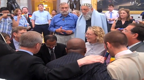 WATCH: Religious Leaders Arrested At Capitol For Budget Protest