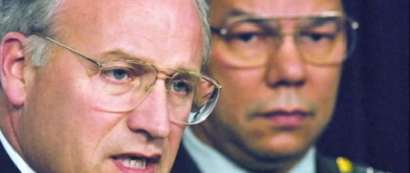 Dick Cheney vs. Colin Powell (VIDEO)