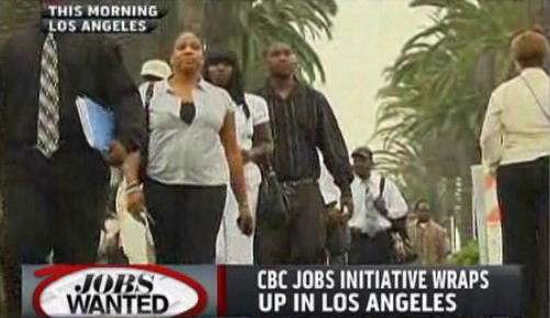 Black Caucus Jobs Fair Draws Thousands (VIDEO)