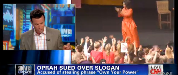 Oprah Winfrey Sued Over Slogan (VIDEO)